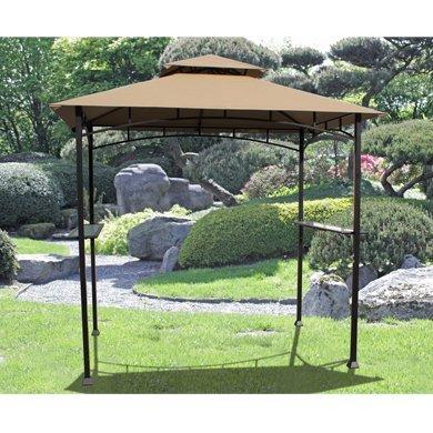 240cm x 150cm rechteckig grill pavillon piave - 240cm x 150cm Rechteckig Grill-Pavillon Piave