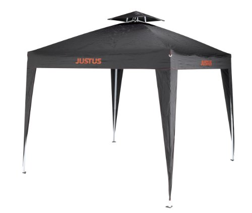 justus grillpavillon schwarz 250x250x260cm - Justus Grillpavillon, Schwarz, 250x250x260cm